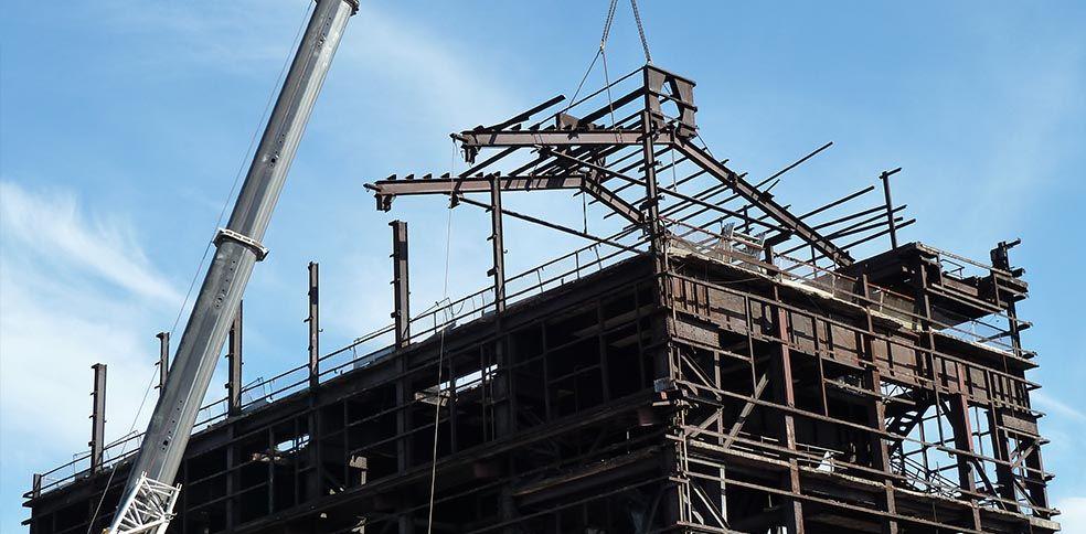 Demolition of BSL's Port Kembla Boilerhouse, built in 1927.