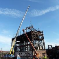 Boilerhouse Demolition - BSL Port Kembla