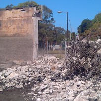 Thickener demolition 3